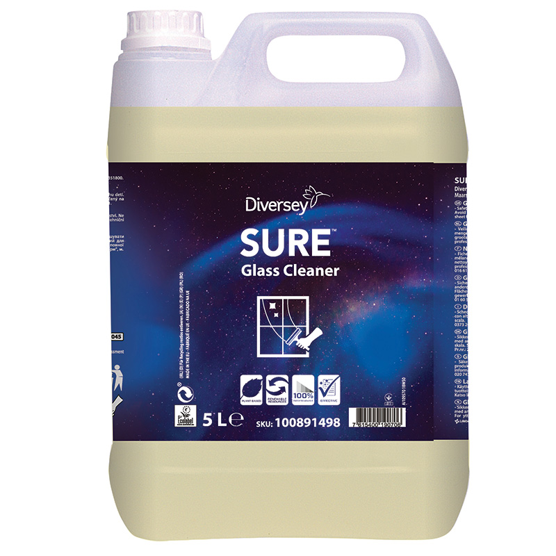 SURE Glass Cleaner 2x5L W1779