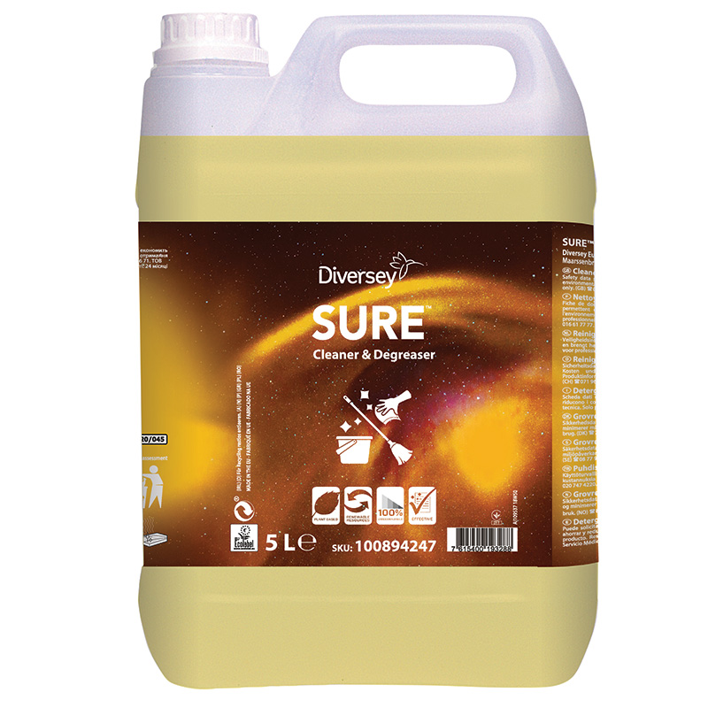 SURE Cleaner & Degreaser 2x5L W1779