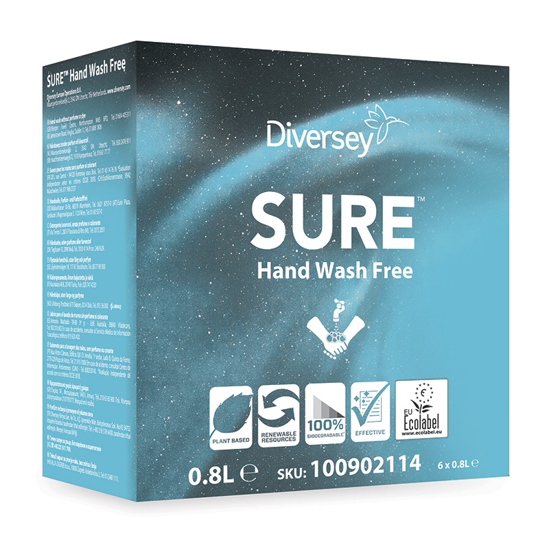 SURE™ Hand Wash Free 6×800 ml (Soft Care Line)