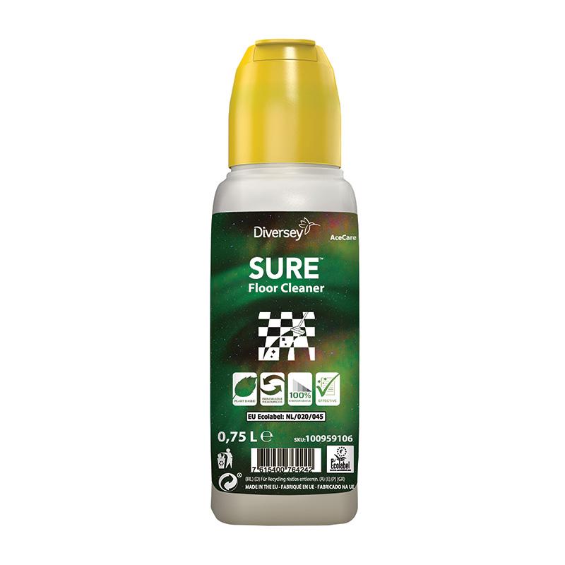 SURE Floor Cleaner AceCare 1×0,75L (inkl. Dosierkappe)
